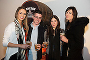 Jenny Hogan, Michael Chambers, Gal Tabenkin and Hannah O'Mara from Busker's at The Jameson The Black Barrel Craft Series  at Old printing works, Market Street with music by Corner boy.  Photo:Andrew Downes