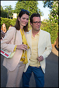 PLUM SYKES; TOBY ROWLAND, 2014 Serpentine's summer party sponsored by Brioni.with a pavilion designed this year by Chilean architect Smiljan Radic  Kensington Gdns. London. 1July 2014