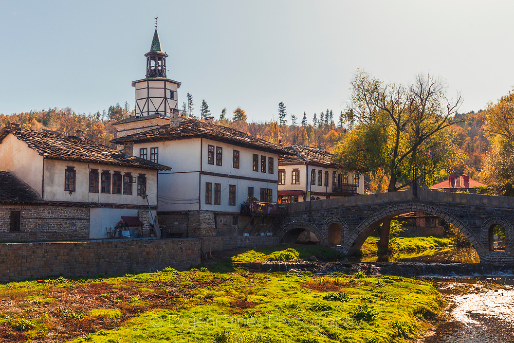 Old monastery in town of Tryavna