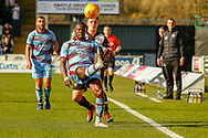 Genseric Kusunga of Dundee FC flicks the ball over his head during the Ladbrokes Scottish Premiership match between St Mirren and Dundee at the Paisley 2021 Stadium, St Mirren, Scotland on 30 March 2019.