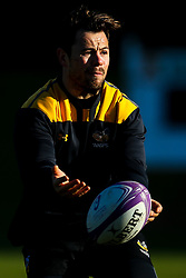 Rob Miller of Wasps during training ahead of the European Challenge Cup fixture against SU Agen - Mandatory by-line: Robbie Stephenson/JMP - 18/11/2019 - RUGBY - Broadstreet Rugby Football Club - Coventry , Warwickshire - Wasps Training Session