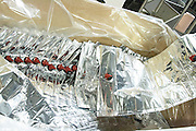 bag in box bottling line empty bags cellier des chartreux rhone france