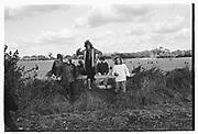 Christchuche and Farley Hill Beagles, Oxfordshire. Autumn, 1980