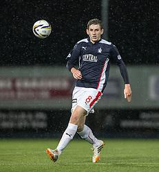 Falkirk's Blair Alston. Falkirk 1 v 3 Rangers, Scottish League Cup game played 23/9/2014 at The Falkirk Stadium.