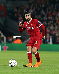 March 6, 2018 - Liverpool, U.S. - 6th March 2018, Anfield, Liverpool, England; UEFA Champions League football, round of 16, 2nd leg, Liverpool versus FC Porto; Emre Can of Liverpool threads the ball through the Porto defense (Photo by Dave Blunsden/Actionplus/Icon Sportswire) ****NO AGENTS---NORTH AND SOUTH AMERICA SALES ONLY****NO AGENTS---NORTH AND SOUTH AMERICA SALES ONLY* (Credit Image: © Dave Blunsden/Icon SMI via ZUMA Press)