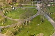 Nederland, Nijmegen: 1-4-2016 Uitzicht op het Kronenburgerpark in het centrum van de stad FOTO: FLIP FRANSSEN/ HH