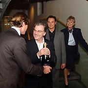 Premiere Lied in de Schemering, Herman Goddijn, Anne Wil Blankers, Willem Nijholt en Pleunie Touw