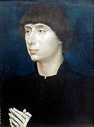Portrait of Unknown Man 1452. Rogier van der Weyden.