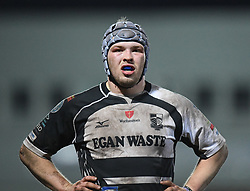 Huw Owen of Pontypridd <br /> <br /> Photographer Mike Jones/Replay Images<br /> <br /> Principality Premiership - Neath v Pontypridd - Friday 16th March 2018 - The Gnoll Neath<br /> <br /> World Copyright © Replay Images . All rights reserved. info@replayimages.co.uk - http://replayimages.co.uk