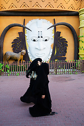 Africa pavilion at Global Village tourist cultural attraction in Dubai United Arab Emirates