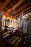 """Stunning Solar-Powered Treehouse In Mexico<br /> <br /> Simply north of Acapulco, in Juluchuca, Mexico, the Playa Viva renewable hotel possess launched a treehouse collection enclosed by lush palms. Using sustainable vacationing to another levels, the bilevel, beachfront treehouse sprawls over 700 square feet and was made by Deture Culsign. The firm directed to """"visually intrigue and highlight sustainable campaigns to supply a natural immersive visitor feel."""" Compared to that conclusion the treehouse, that has been finished in only half a year from preliminary design conference to earliest guest checkin, is made of bamboo with energy and hot water supplied by solar powered energy.<br /> <br /> The idea of the design is actually for visitors to experience indoor and outside lifestyle within one space that is seamless. The locally acquired wood blends into the environment, with an unbarred atmosphere sitting place and private restroom situated on the ground floor. The roof associated with the toilet are deliberately rounded away, setting up to the sky and promoting an shower sensation that is outdoor. Top of the room, or perch, contains a king bed as well as 2 individual hammock—perfect for gazing out of the open tube on the exclusive beach.<br /> <br /> Guests include expected to leave their own inhibitions behind, investing in the au naturel feeling with the treehouse, which was developed by California-based Artistree. The package can sleeping three people who have costs ranging from $445 to $620, depending on the period, food, and pilates classes integrated. The resort alone sits on 200 miles and includes an estuary, an Aztec archeological web site, turtle retreat, and a coastal forest and mangrove environment which supporting a myriad of animals.<br /> ©Leonardo.Palafox/DETURE CULSIGN/Exclusivepix Media"""