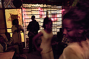 Prostitutes frequent many bars in Addis Ababa, Ethiopia. They are often paid extra to have sex without a condom, which contributes to the high rate of HIV transmission. In some countries, adolescent girls are being infected with HIV at a rate five or more times higher than boys.