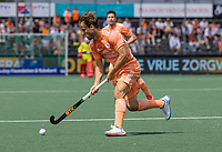 AMSTELVEEN -  Jeroen Hertzberger (Ned) .  EK hockey, finale Nederland-Duitsland 2-2. mannen.  Nederland wint de shoot outs en is Europees Kampioen.  COPYRIGHT KOEN SUYK