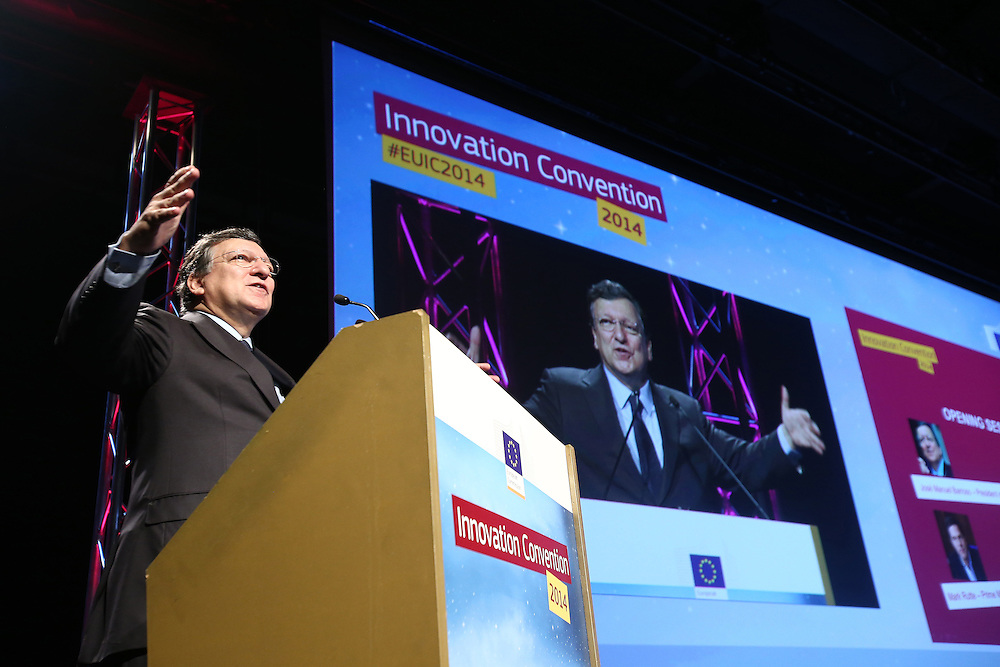 Belgium - Brussels - 10 March 2014 - Innovation Convention 2014 - Presidential session state of the innovation union address - Jose Manuel Durao BARROSO , President of the European Commission ©EC/CE