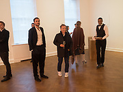 OSCAR HUMPHRIES, Opening of Galerie Thaddaeus Ropac London, Ely House, 37 Dover Street.. Mayfair. London. 26 April 2017.
