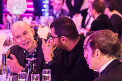 Old Town Hall, Stratford, London - 28 November 2015. Singers Marc Almond, Ronan Parke, Heather Peace and Asifa Lahore headline the Peter Tatchell Foundation's inaugural Equality Ball, a fundraiser for the foundation's LGBTI and human rights work, with guest of honour Sir Ian McKellen  joined by Michael Cashman. //// FOR LICENCING CONTACT: paul@pauldaveycreative.co.uk TEL:+44 (0) 7966 016 296 or +44 (0) 20 8969 6875. ©2015 Paul R Davey. All rights reserved.