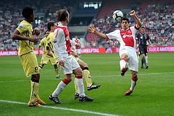 25-04-2010 VOETBAL: AJAX - FEYENOORD: AMSTERDAM<br /> De eerste wedstrijd in de bekerfinale is gewonnen door Ajax met 2-0 / Louis Suarez<br /> ©2009-WWW.FOTOHOOGENDOORN.NL