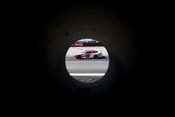 April 13, 2018 - Bristol, Tennesse, United States of America - April 13, 2018 - Bristol, Tennesse , USA: Ryan Preece (18) practices for the Fitzgerald Glider Kits 300 at Bristol Motor Speedway in Bristol, Tennesse  (Credit Image: © Stephen A. Arce/ASP via ZUMA Wire)