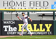 CHICAGO - AUGUST 21:  Melky Cabrera #53 of the Chicago White Sox fields against the Oakland Athletics on August 21, 2016 at U.S. Cellular Field in Chicago, Illinois.  The White Sox defeated the Athletics 4-2.  (Photo by Ron Vesely)   Subject:   Melky Cabrera