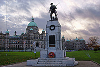 Korean War Memorial, Victoria, British Columbia, Canada