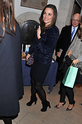 PIPPA MIDDLETON at the Fayre of St. James Christmas Carol Service organised by the Quintessentially Foundation in aid of War Child held St.James's Piccadilly, London on 29th November 2012.