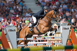 Sam Griffiths, (AUS), Paulank Brockagh - Jumping Eventing - Alltech FEI World Equestrian Games™ 2014 - Normandy, France.<br /> © Hippo Foto Team - Jon Stroud<br /> 31-08-14