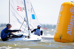 The Allianz Regatta is the first event of the 2021 Hempel World Cup Series. Hosted in Medemblik, The Netherlands, 350 sailors will race across eight Olympic classes across two weeks of competition. Medal Races. 6 June, 2021 © Sander van der Borch / Allianz Regatta