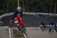 #19 (POSEY Justin) USA at the 2016 UCI BMX Supercross World Cup in Santiago del Estero, Argentina