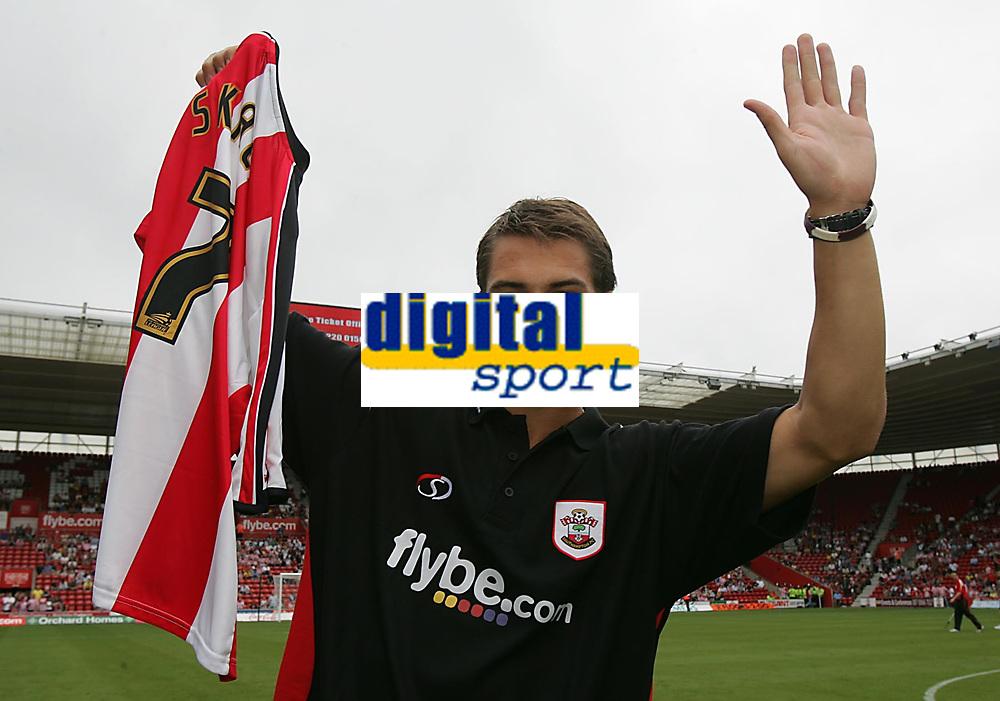 Photo: Lee Earle.<br /> Southampton v Panathinaikos. Pre Season Friendly. 29/07/2006. Southampton's latest signing Rudi Skacel.