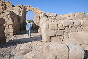 Israel, West Bank, The Monastery of Euthymius was a laura in Palestine founded by Saint Euthymius the Great in 420.