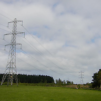 Powerlines Near Glasgow, Scotland. Image taken with a Nikon N1 V2 camera and 6.7-13 mm lens (ISO 160, 13.6 mm, f/5, 1/800 sec)