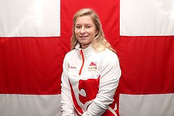 Team England's massage therapist Maria Goriup poses for a photo during the kitting out session at Kukri Sports HQ, Preston.
