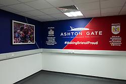 New photographers room in the Lansdown Stand at Ashton Gate - Rogan Thomson/JMP - 30/01/2017 - SPORT - Ashton Gate Stadium - Bristol, England - New West Stand Facilities.
