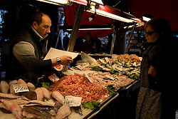 Venice (Italy) 2007 - Fish Market in Venice.