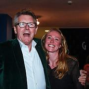 NLD/Haarlem/20130131 - Inloop Premiere Terug naar de Kust, Ursul de Geer en ?..
