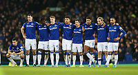 Football - 2019 / 2020 EFL Carabao (League) Cup - Quarter-Final: Everton vs. Leicester City<br /> <br /> Everton players react during a penalty shoot out  at Goodison Park.<br /> <br /> COLORSPORT/LYNNE CAMERON