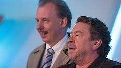 18.04.2016, WDR Studios, Koeln, GER, TV Komoedie, Ein Schnitzel geht immer, Fototermin, im Bild Armin Rhode (Schauspieler, als Guenther Kuballa) vor Ludger Pistor (Schauspieler, als Wolfgang Krettek) // during a photocall of german TV comedy 'Ein Schnitzel geht immer' at the WDR Studios in Koeln, Germany on 2016/04/18. EXPA Pictures © 2016, PhotoCredit: EXPA/ Eibner-Pressefoto/ Deutzmann<br /> <br /> *****ATTENTION - OUT of GER*****