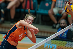Jolien Knollema of Netherlands in action during semi final Netherlands - Serbia, FIVB U20 Women's World Championship on July 17, 2021 in Rotterdam