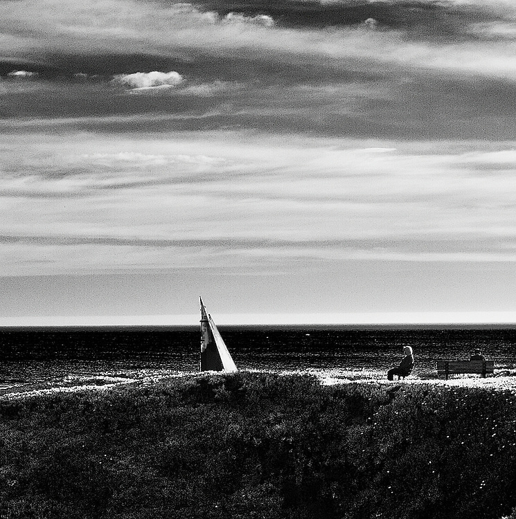 This is an ongoing series of how people relate to the sail sculpture and natural beauty of Monterey Bay.