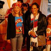 Uitreiking Kids Choice Awards 2004, Xandra Brood en dochter
