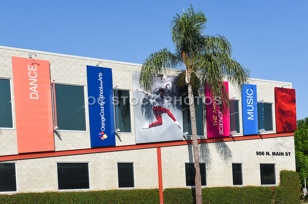 Building Exterior at Orange County School of the Arts