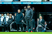 Liverpool manager Jurgen Klopp looks on during the Premier League match between Newcastle United and Liverpool at St. James's Park, Newcastle, England on 4 May 2019.