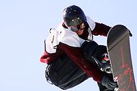 Snøbrett, NM halfpipe, Kongsberg skisenter 24. mars 2001.Daniel Franck, Norge