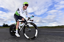 March 7, 2018 - Saint Etienne, France - SAINT-ETIENNE, FRANCE - MARCH 7 : PAUWELS Serge  (BEL)  of Team Dimension Data in action during stage 4 of the 2018 Paris - Nice cycling race, an individual time trial over 18,4 km from La Fouillouse to Saint-Etienne on March 07, 2018 in Saint-Etienne, France, 7/03/2018 (Credit Image: © Panoramic via ZUMA Press)