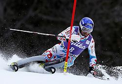 19.01.2014, Maennlichen Jungfrau, Wengen, SUI, FIS Weltcup Ski Alpin, Wengen, Slalom, Herren, im Bild Jean-Baptiste Grange (FRA) // during mens Slalom of FIS Ski Alpine World Cup at the Maennlichen Jungfrau in Wengen, Switzerland on 2014/01/19. EXPA Pictures © 2014, PhotoCredit: EXPA/ Freshfocus/ Christian Pfander<br /> <br /> *****ATTENTION - for AUT, SLO, CRO, SRB, BIH, MAZ only*****
