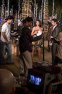 Inspelning av Bollywood-filmen Dulha Mil Gaya - Found a Groom. .Skåderspelerna Sushmita Sen och Fardeen Khan. ...COPYRIGHT 2008 CHRISTINA SJÖGREN.ALL RIGHTS RESERVED...