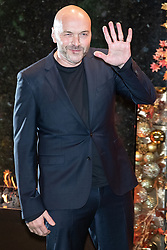 © Licensed to London News Pictures . 23/11/2018. Manchester , UK . Simon Rimmer arrives at an opening event of The Ivy restaurant and bar venue in Spinningfields in Manchester City Centre . Photo credit : Joel Goodman/LNP