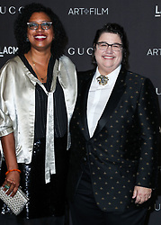 LOS ANGELES, CA, USA - NOVEMBER 03: 2018 LACMA Art + Film Gala held at the Los Angeles County Museum of Art on November 3, 2018 in Los Angeles, California, United States. 03 Nov 2018 Pictured: Robin Coste Lewis, Catherine Opie. Photo credit: Xavier Collin/Image Press Agency/MEGA TheMegaAgency.com +1 888 505 6342