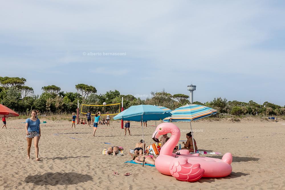 Venice, Punta Sabbioni, Camping Union Lido