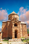 10th century Armenian Orthodox Cathedral of the Holy Cross on Akdamar Island, Lake Van Turkey 65 .<br /> <br /> If you prefer to buy from our ALAMY PHOTO LIBRARY  Collection visit : https://www.alamy.com/portfolio/paul-williams-funkystock/lakevanturkey.html<br /> <br /> Visit our TURKEY PHOTO COLLECTIONS for more photos to download or buy as wall art prints https://funkystock.photoshelter.com/gallery-collection/3f-Pictures-of-Turkey-Turkey-Photos-Images-Fotos/C0000U.hJWkZxAbg